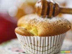 Muffin alla ricotta e miele di acacia