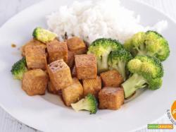 Tofu di canapa al forno
