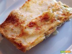 Lasagne light con zucchine e prosciutto cotto