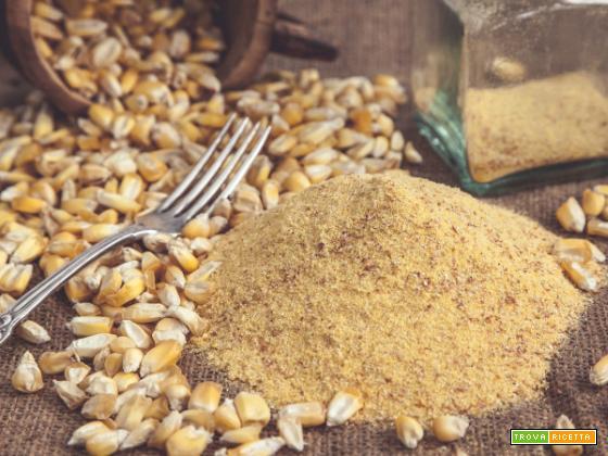Farina di mais, una fonte eccellente di zinco