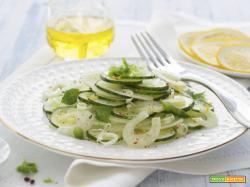 Insalata con cetrioli e finocchi, un mix di vitamine
