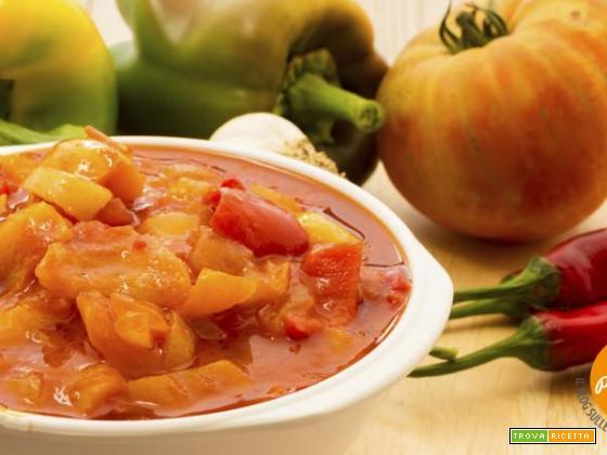 Peperonata piccante: allora si che le verdure prendono gusto!