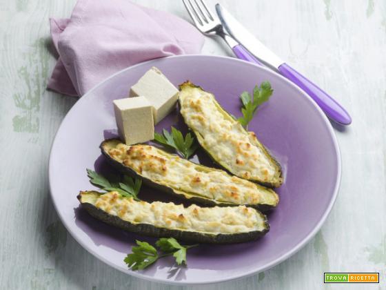 Zucchine ripiene di tofu, un secondo davvero speciale!