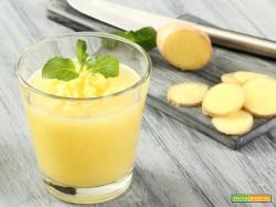 Acqua zenzero limone e miele d'acacia, un pieno di energia