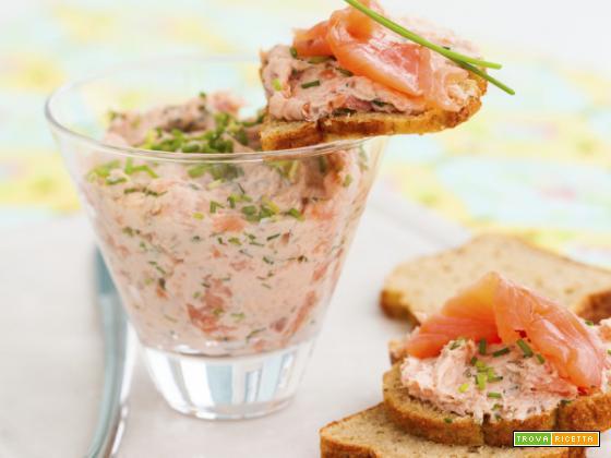 Crema di salmone: il ritorno alle cose genuine!
