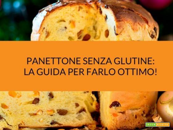 Panettone senza glutine: istruzioni per l'uso