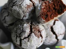 Pasticcini al cacao con farina di riso e mandorle