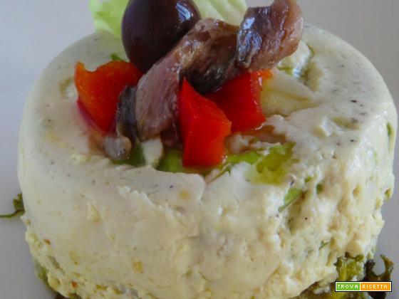 Tortino di baccalà con olive, un'idea per il pranzo o la cena!