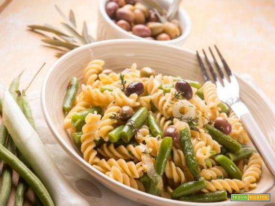 Fagiolini: provali con le eliche e le olive taggiasche!