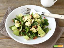 Insalata di avocado e spinacini