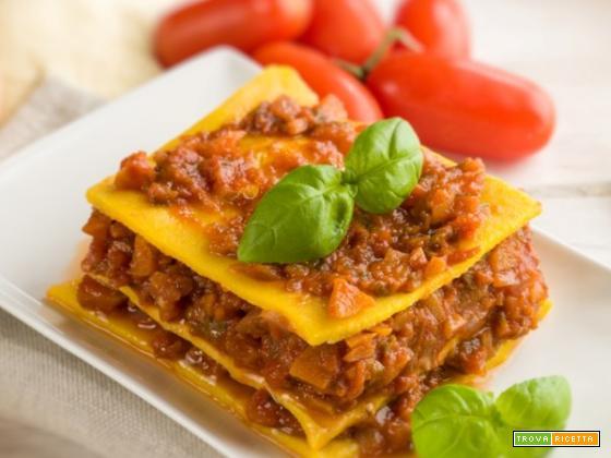 Lasagne con ragù, un omaggio alla tradizione culinaria italiana