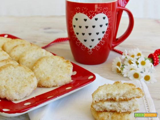 Biscotti al cocco: la colazione sana, gustosa e nutriente