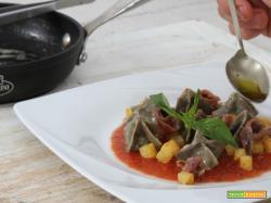 Fagottini con farina di canapa e cicoria in umido: un piatto speciale!