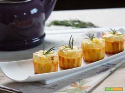 Una merenda deliziosa e nutriente con i muffins cocco e ananas