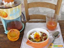 Porridge di miglio con uovo e spremuta d'arancia: la colazione all'inglese