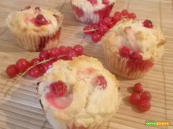 Muffin ai ribes rossi