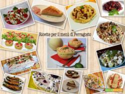 Ricette per il menù di Ferragosto