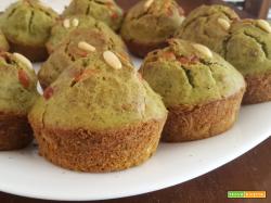 Muffin al pesto – Ricetta sfiziosa facile e veloce