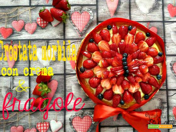 Crostata morbida con fragole