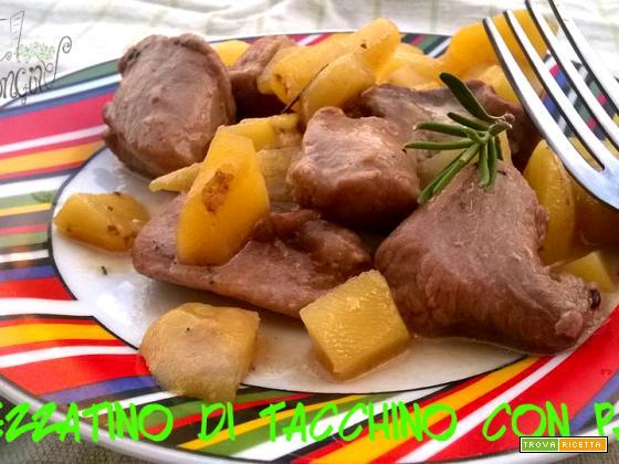 Spezzatino con patate in padella