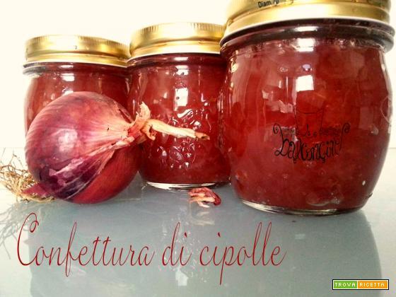 Confettura di cipolle rosse di Tropea