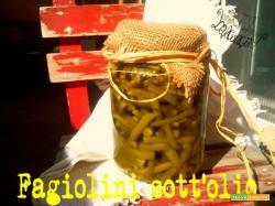 Fagiolini sott'olio