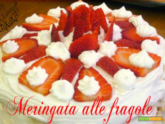 Meringata alle fragole