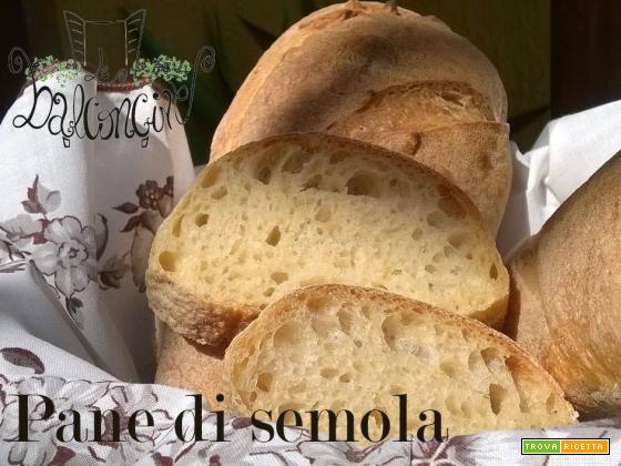 Pane di semola a lievitazione naturale