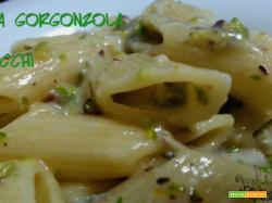 Pasta gorgonzola e pistacchi