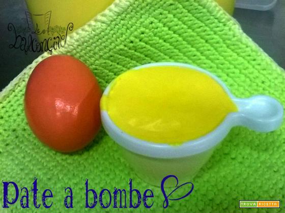 Pate à bombe (crema tiramisù)