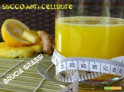 Succo anti-cellulite e brucia grassi