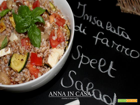 Insalata di farro vegan - Spelt salad