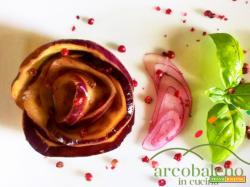 Antipasto Estivo: Melanzane Viola marinate profumate con Basilico fresco  e Cipolla Rossa!
