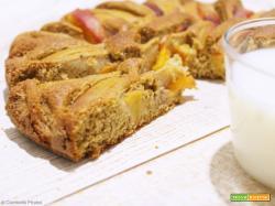 Torta rustica di Pesche e Grano Saraceno