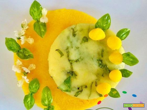 Patate al profumo di Curcuma e Basilico fresco