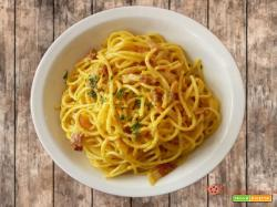 Spaghetti alla carbonara e Un americano a Roma