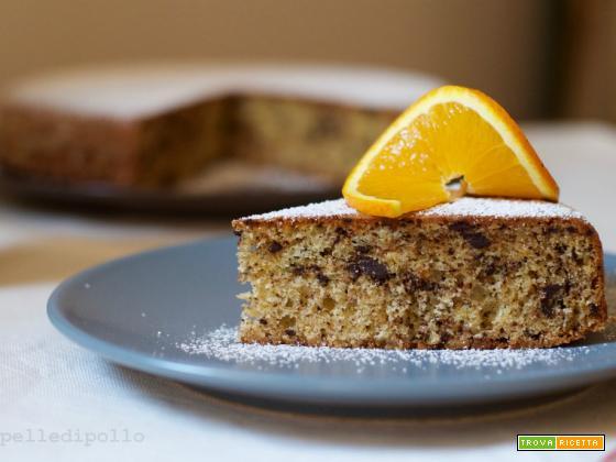 Torta con marmellata di arance