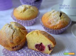 Muffin ai frutti rossi e ricotta