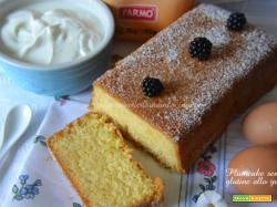 Plumcake senza glutine allo yogurt