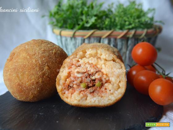 Arancini siciliani o Arancine siciliane