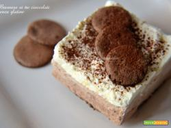Bavarese ai tre cioccolati senza glutine