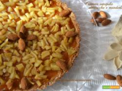 Crostata integrale albicocca e mele
