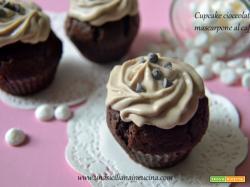 Cupcake cioccolato e mascarpone al caffè