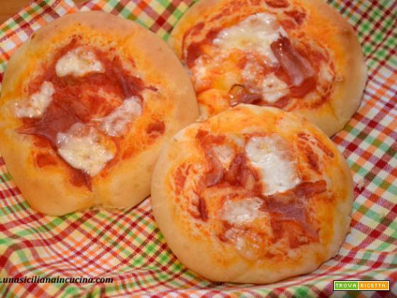 Pizzette siciliane