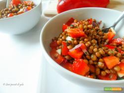 Lenticchie fredde in insalata