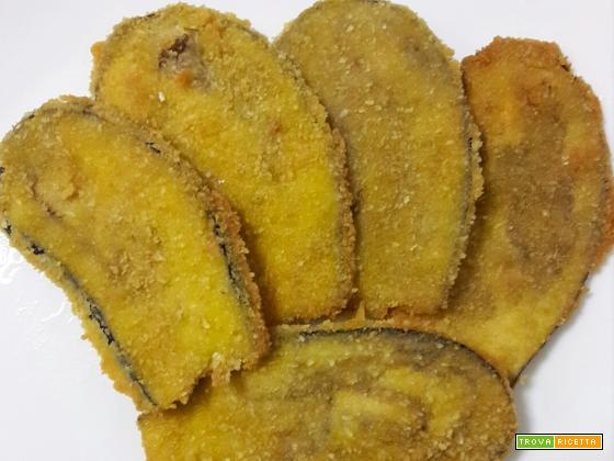 Melanzane impanate fritte – ricetta sfiziosa