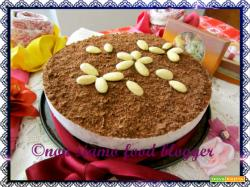 Torta Fredda Yogurt e Cioccolato (senza panna, senza gelatina e senza burro)