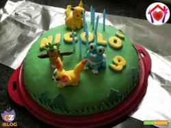 Torta Pokemon Go