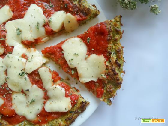 Pizza di zucchine light
