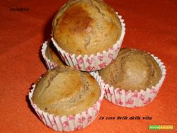 Muffins alla ricotta nutellosi